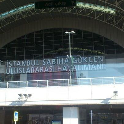 Снимок сделан в Аэропорт Стамбул им. Сабихи Гёкчен (SAW) пользователем Serdar R. 7/12/2013