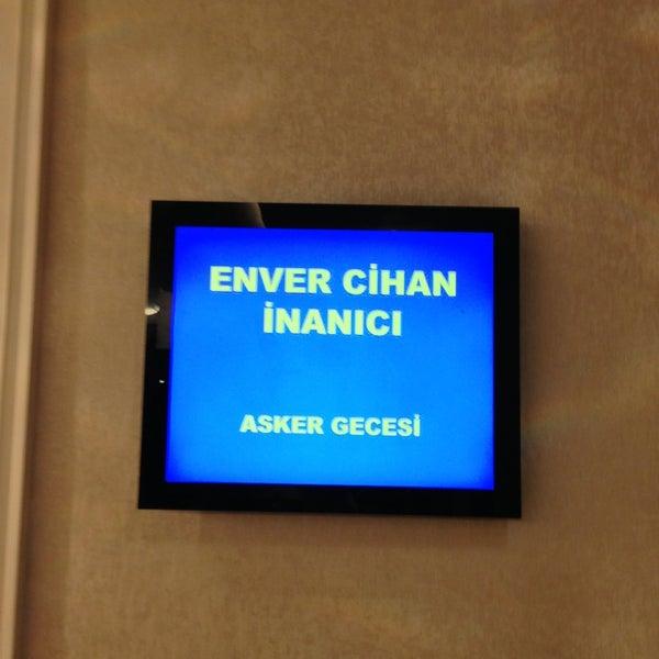 Das Foto wurde bei Grand Hotel Gaziantep von ADNAN İNANICI am 4/5/2013 aufgenommen