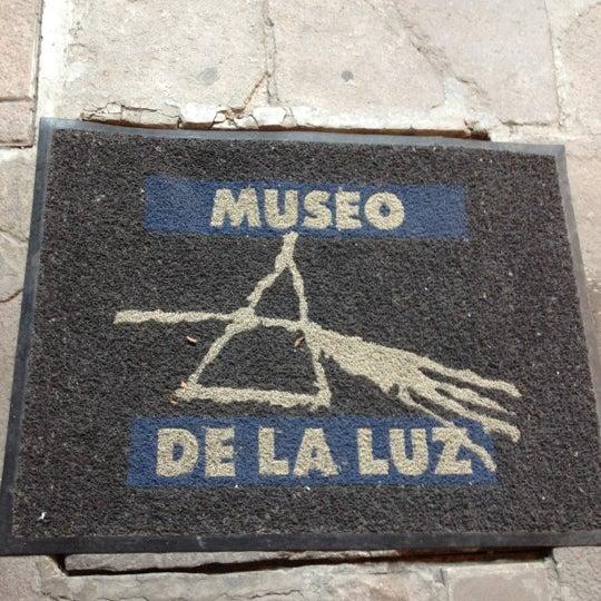 Foto tomada en Museo de la Luz por Any el 10/11/2012