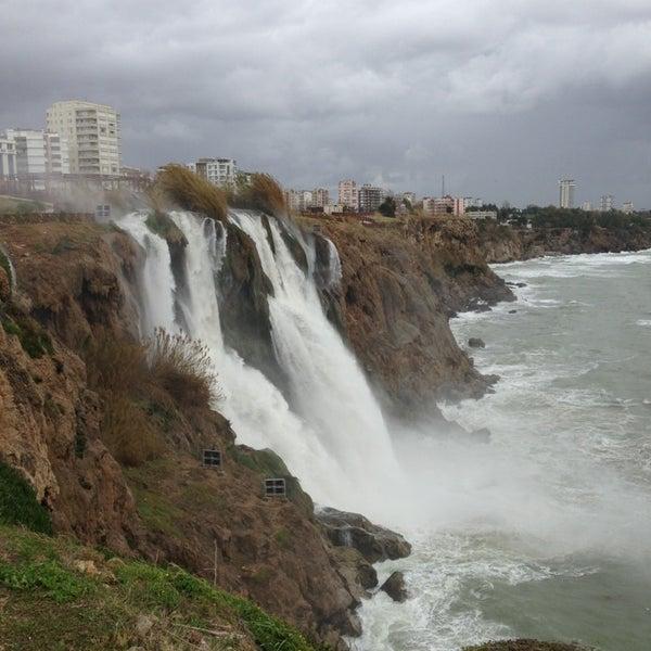 1/26/2013 tarihinde Sönmez Ç.ziyaretçi tarafından Düden Şelalesi'de çekilen fotoğraf