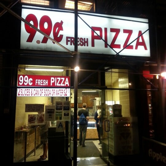 Photo Taken At 99 Cent Fresh Pizza By Sean C On 9 22