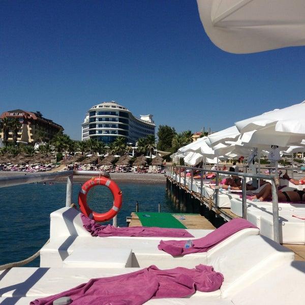 8/6/2013 tarihinde .ziyaretçi tarafından Q Premium Resort Hotel Alanya'de çekilen fotoğraf