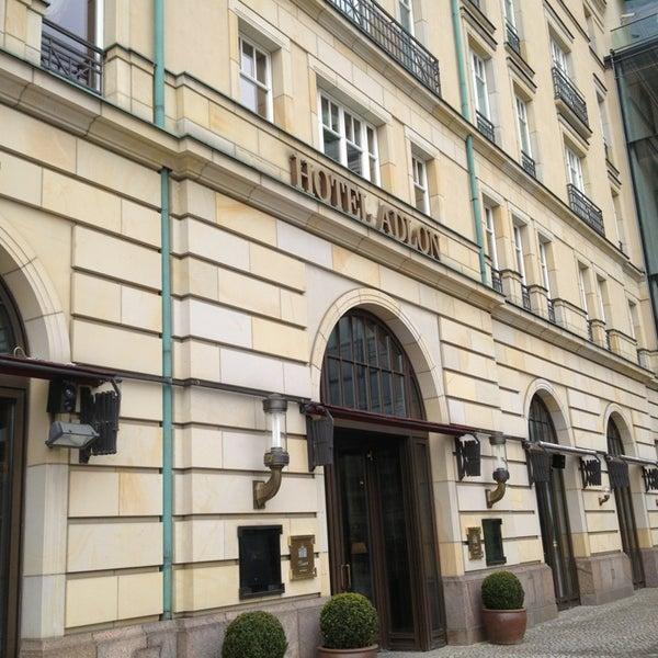 4/5/2013에 Aga님이 Hotel Adlon Kempinski Berlin에서 찍은 사진