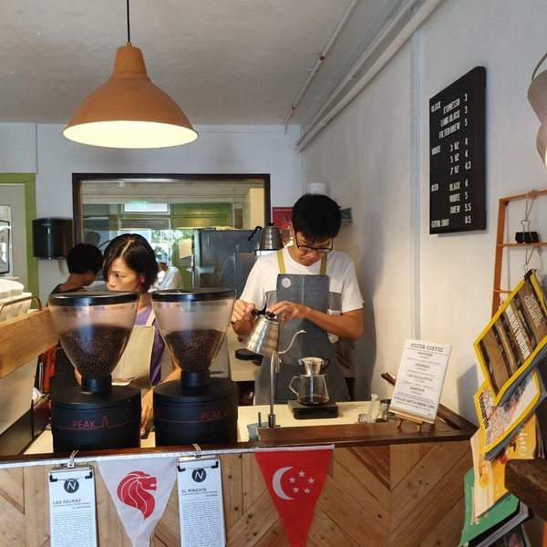 7/28/2019にchang t.がNylon Coffee Roastersで撮った写真