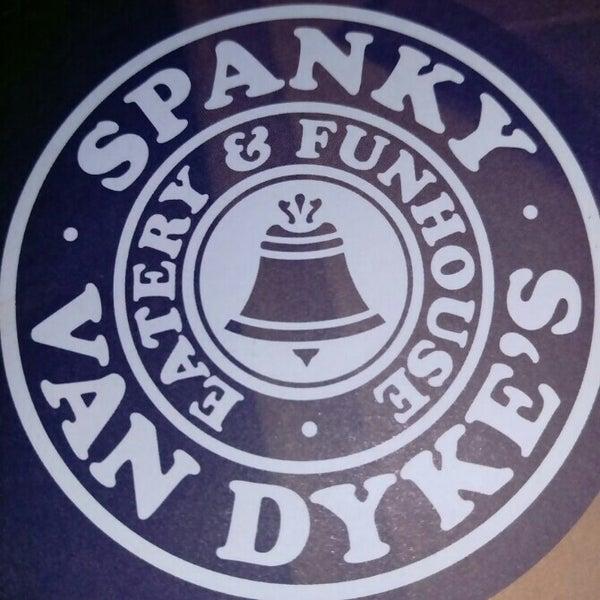 Снимок сделан в Spanky Van Dykes пользователем Julie C. 4/23/2015