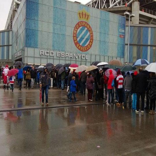 Foto diambil di RCDE Stadium oleh Paolo P. pada 4/28/2013