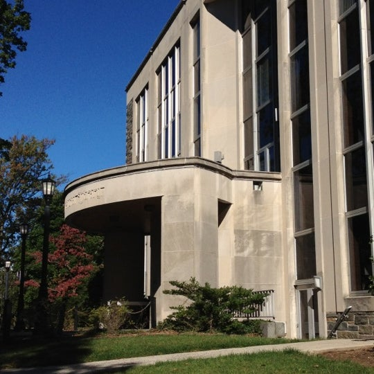 Front of Falvey Memorial Library
