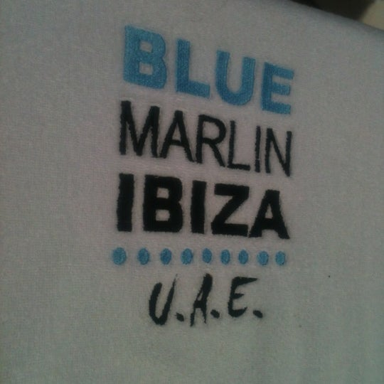 Снимок сделан в Blue Marlin Ibiza пользователем Ryan M. 9/21/2012