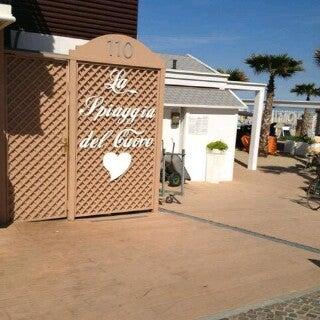 7/14/2013에 Diego P.님이 La Spiaggia Del Cuore 110에서 찍은 사진