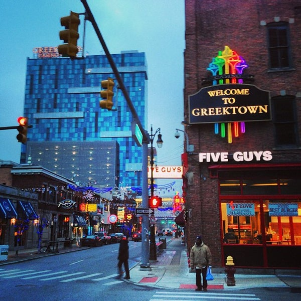 Foto scattata a Greektown Casino-Hotel da Simon Taylor A. il 1/31/2013