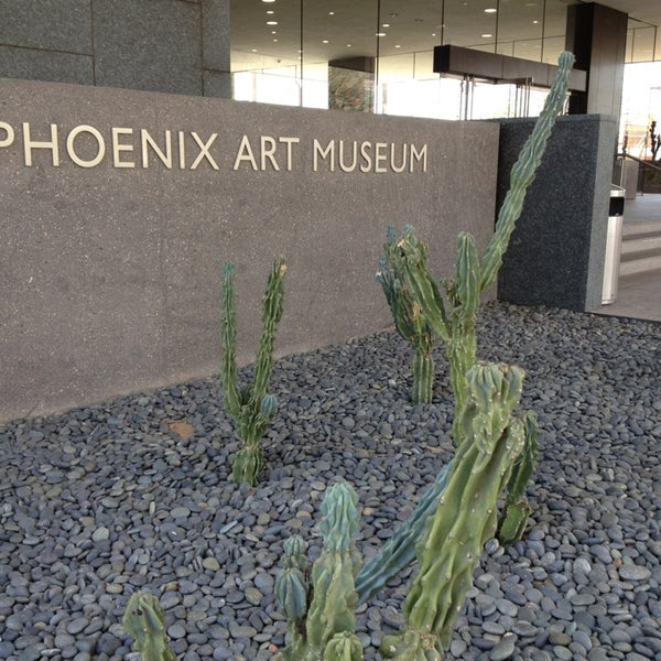 Снимок сделан в Phoenix Art Museum пользователем Karin D. 2/2/2013