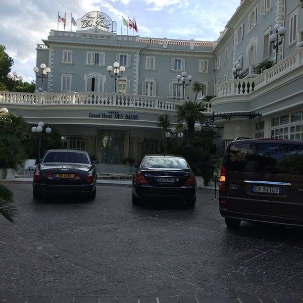 8/19/2014にSimone M.がGrand Hotel Des Bainsで撮った写真