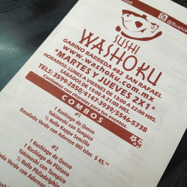 Foto diambil di Sushi Washoku oleh Diiana Potts  🌺 pada 2/21/2013