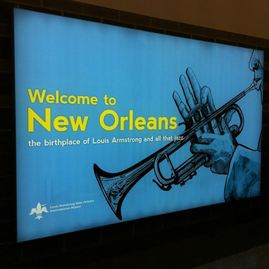 Foto scattata a Louis Armstrong New Orleans International Airport (MSY) da Yekaterina P. il 3/8/2013