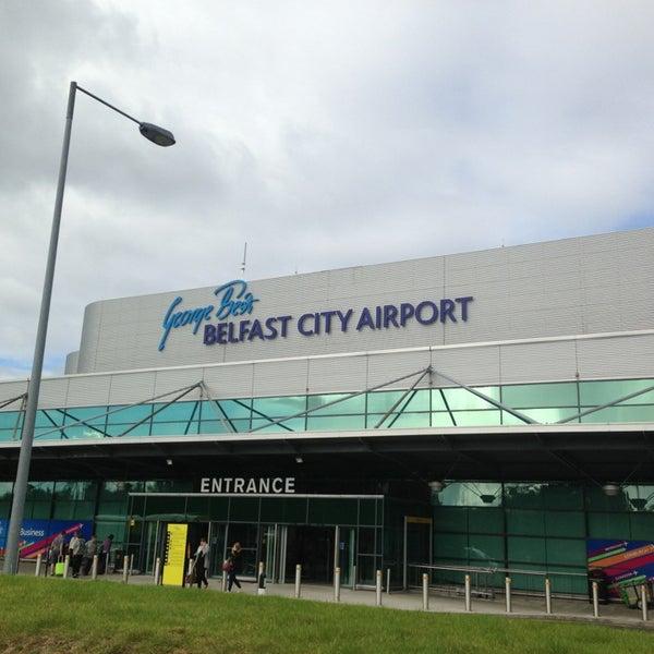 Photos At George Best Belfast City Airport Bhd Sydenham