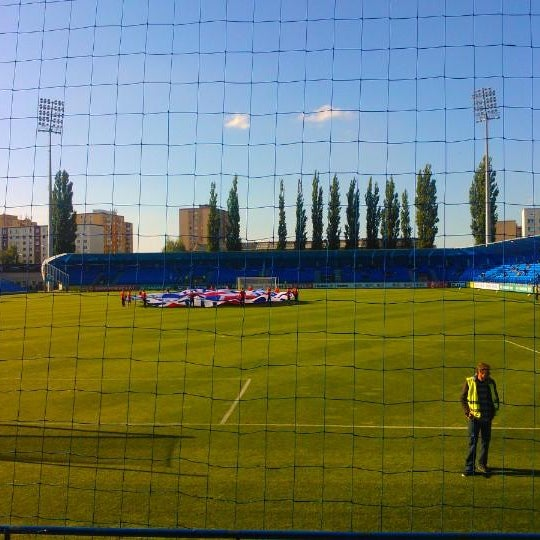 Foto tirada no(a) Štadión FK Senica por Miroslav F. em 5/10/2014