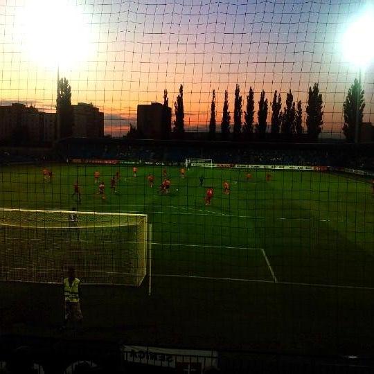 Foto tirada no(a) Štadión FK Senica por Miroslav F. em 7/25/2014