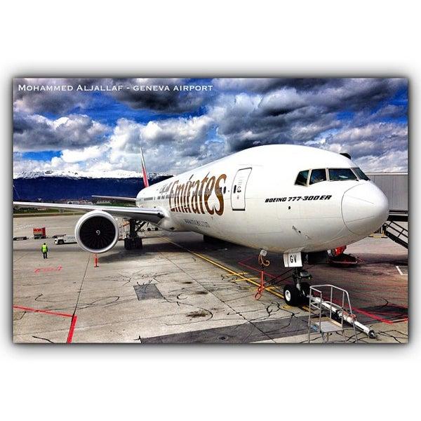 4/10/2013にMohammed A.がジュネーヴ国際空港 (GVA)で撮った写真