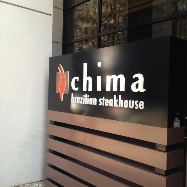Foto diambil di Chima Brazilian Steakhouse oleh Lynn G. pada 2/3/2013