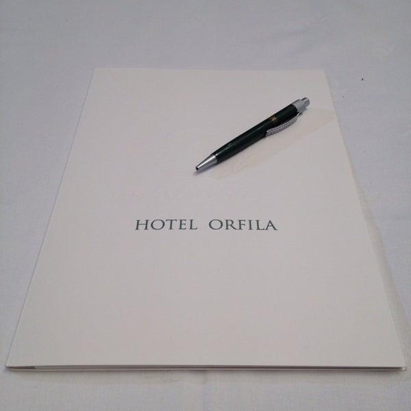 Photo prise au Hotel Orfila par Lucía P. le12/11/2013