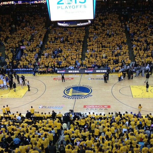 รูปภาพถ่ายที่ Oakland Arena โดย Ryan เมื่อ 5/17/2013