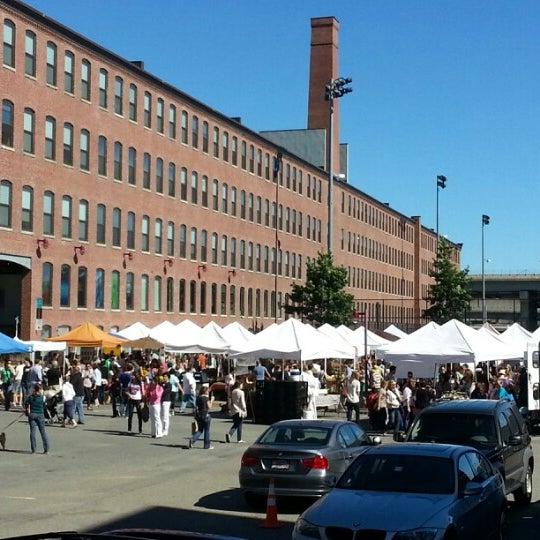 Foto tirada no(a) South End Open Market @ Ink Block por Dave R. em 9/16/2012