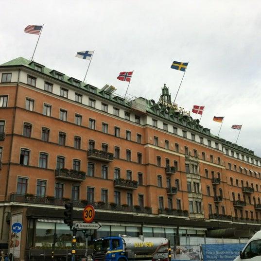 Foto tirada no(a) Grand Hôtel Stockholm por Laura B. em 6/29/2012