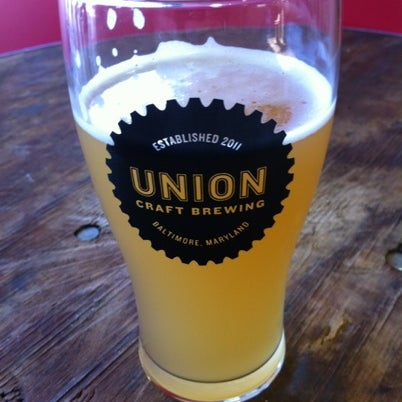 Photo taken at Union Craft Brewing by Fred S. on 7/28/2012