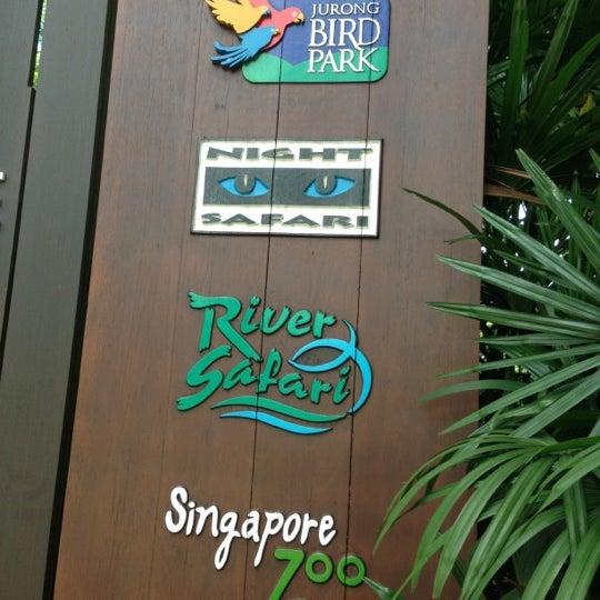 Foto tirada no(a) Singapore Zoo por Suin Hidehito em 10/30/2012