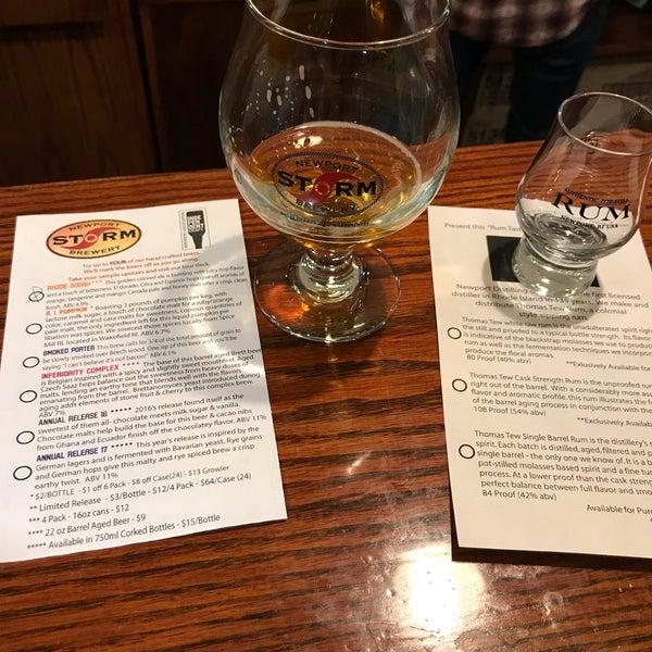 Das Foto wurde bei Newport Storm Brewery von Jon D. am 12/29/2017 aufgenommen