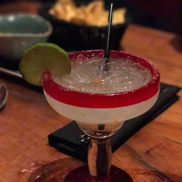 Try the habanero margarita, it's amazing with just a little kick.   The food here was also amazing.