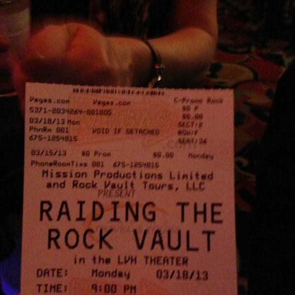 Снимок сделан в LVH - Las Vegas Hotel & Casino пользователем Debbie 3/19/2013