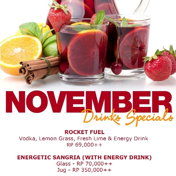 Discover our November Special Drink