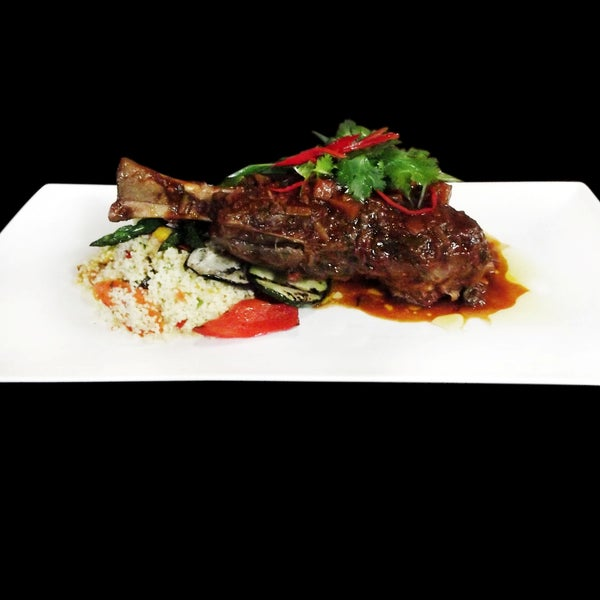 Lamb Shank - September's Special at The Deck