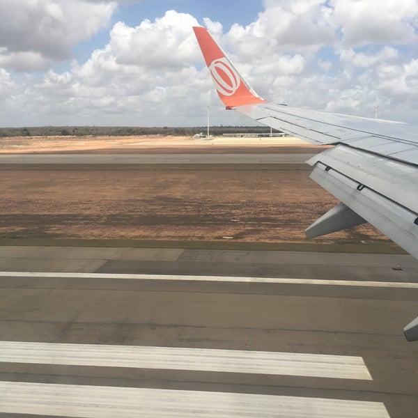 Снимок сделан в Aeroporto Internacional de Natal / São Gonçalo do Amarante (NAT) пользователем Gilce Elaine S. 12/30/2016