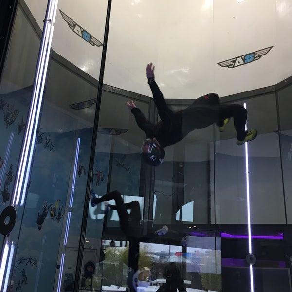 Das Foto wurde bei Airspace Indoor Skydiving von Jan am 1/25/2017 aufgenommen