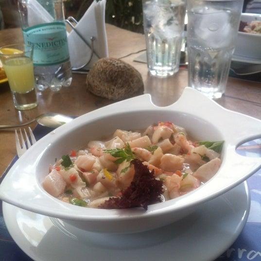 10/18/2012 tarihinde Belen A.ziyaretçi tarafından Terraza Isidora Beach Club'de çekilen fotoğraf
