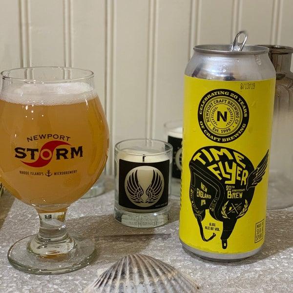 Das Foto wurde bei Newport Storm Brewery von Luigi S. am 8/17/2019 aufgenommen