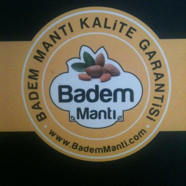 Das Foto wurde bei Badem Mantı von Mert S. am 3/4/2013 aufgenommen