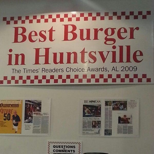 Five Guys Huntsville Al
