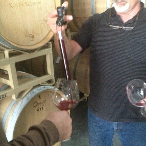 Photo taken at Kosta Browne Winery by Debora B. on 11/6/2013