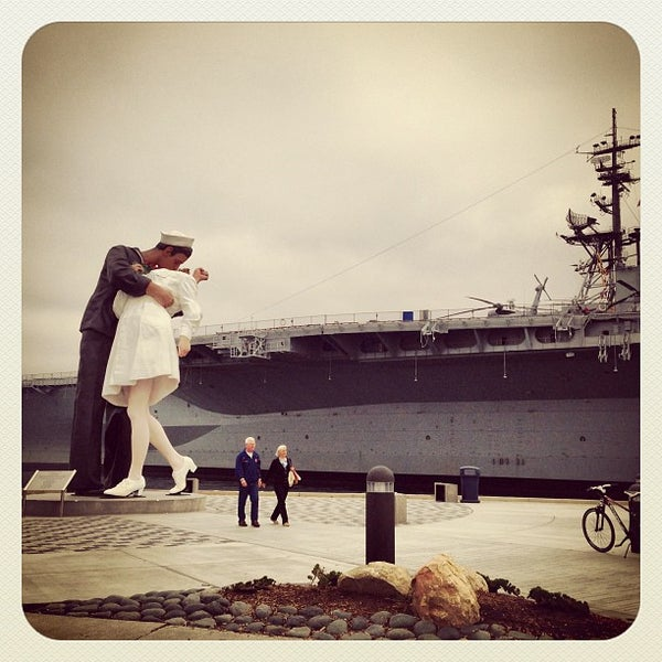 Photo taken at USS Midway Museum by Michael C. on 5/7/2013