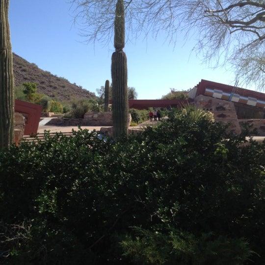รูปภาพถ่ายที่ Taliesin West โดย Marc S. เมื่อ 11/11/2012