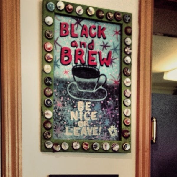 Foto tirada no(a) Black & Brew por Bonnie em 2/16/2014