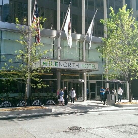 5/18/2014 tarihinde Duncan R.ziyaretçi tarafından MileNorth, A Chicago Hotel'de çekilen fotoğraf