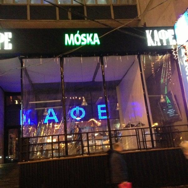 Foto scattata a Moska Bar da Artem K. il 1/31/2013