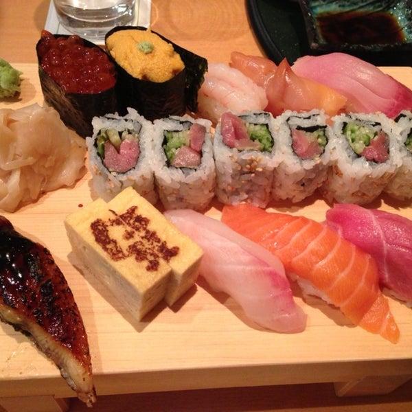 Photo taken at Kiku Restaurant by SY L. on 1/26/2013