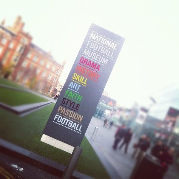 11/23/2012 tarihinde Mark R.ziyaretçi tarafından National Football Museum'de çekilen fotoğraf