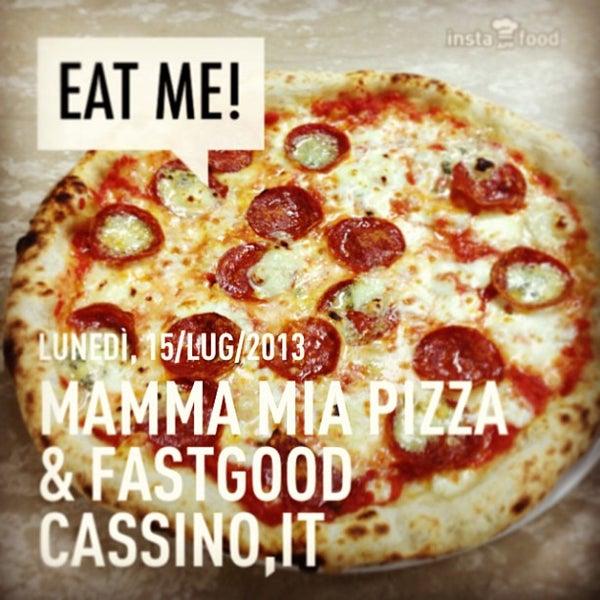 Foto tirada no(a) Mamma Mia Pizza & FastGood por Mamma Mia F. em 7/15/2013