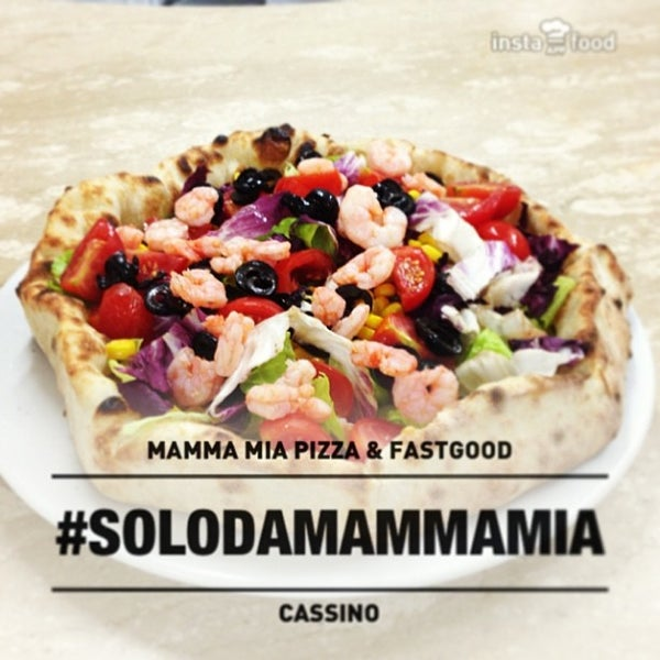 Foto scattata a Mamma Mia Pizza & FastGood da Mamma Mia F. il 11/27/2013